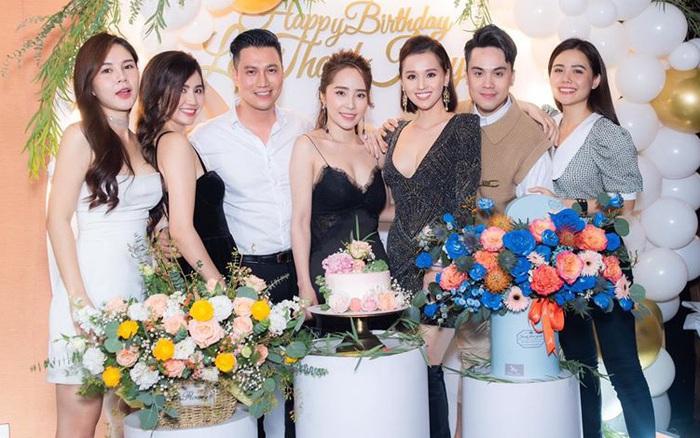 Hội bạn thân Việt Anh lâu lắm mới tụ họp dịp sinh nhật Lã Thanh Huyền, nhan sắc Quỳnh Nga ...