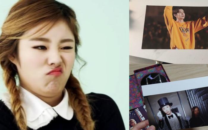 Mua album của idol nhưng lại bóc ra postcard idol của idol, chuyện gì thế này MAMAMOO ơi?