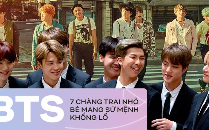 BTS: 7 chàng trai mang sứ mệnh đặc biệt và bài toán bí mật ẩn sau đó
