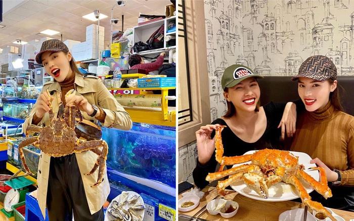 Đến chợ hải sản lớn nhất Seoul ăn cua hoàng đế mà mải mặc cả quá, mãi sau Kỳ ...