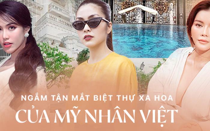 Bên trong biệt thự của dàn mỹ nhân Việt: Dát vàng, sang như khách sạn 5 ...