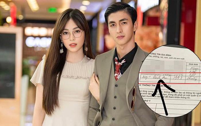 """Gần 1 năm hẹn hò, Phương Nga bất ngờ nhận Bình An là """"chồng"""" trong hồ sơ cá ..."""