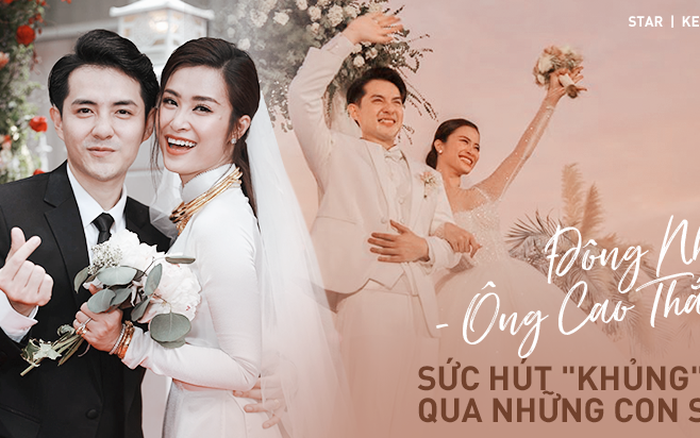 Siêu đám cưới biến Đông Nhi - Ông Cao Thắng thành vợ chồng hot nhất Vbiz: ...