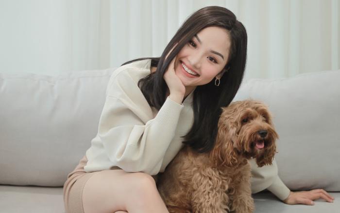 """Miu Lê tung phiên bản ngồi phòng khách ôm boss cưng hát """"Giá Như ..."""
