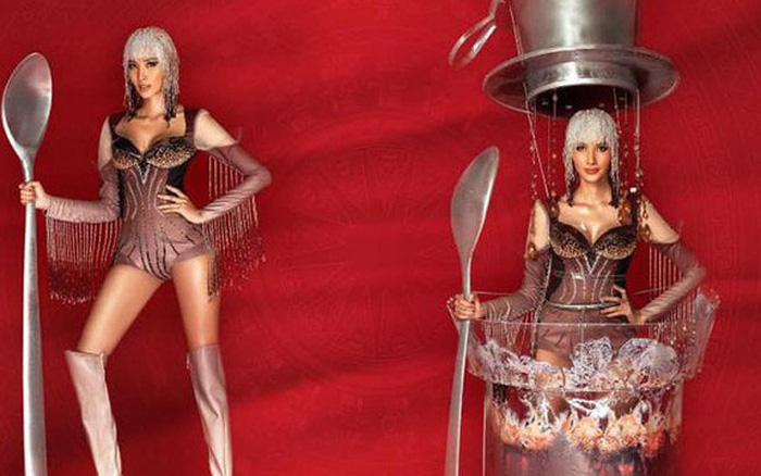 """Chính thức: Hoàng Thùy chọn """"Cà Phê"""" là Quốc phục mang đến Miss ..."""