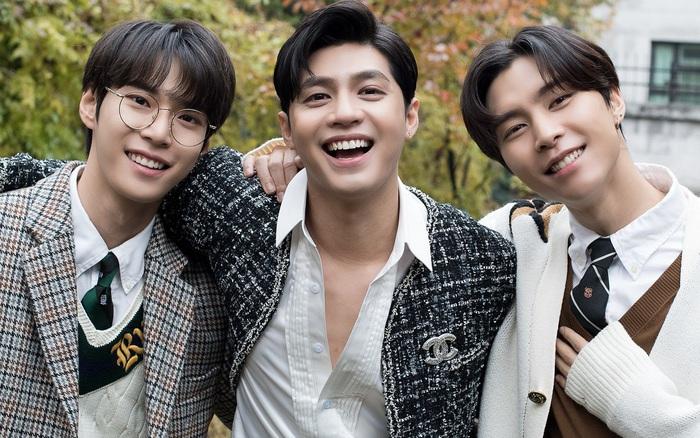 """Noo Phước Thịnh bất ngờ chụp hình cùng 2 trai đẹp nhà SM, """"thính thơm"""" thế ..."""