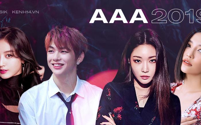 6 sân khấu trong mơ tại AAA 2019: Kang Daniel và Jihyo (TWICE) hay Bích Phương và ... - aaa