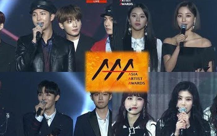 """1001 kiểu reaction của idol tại AAA: Jungkook """"vẹo cả cổ"""" ngắm IU, BTS bị dàn diễn ... - aaa"""