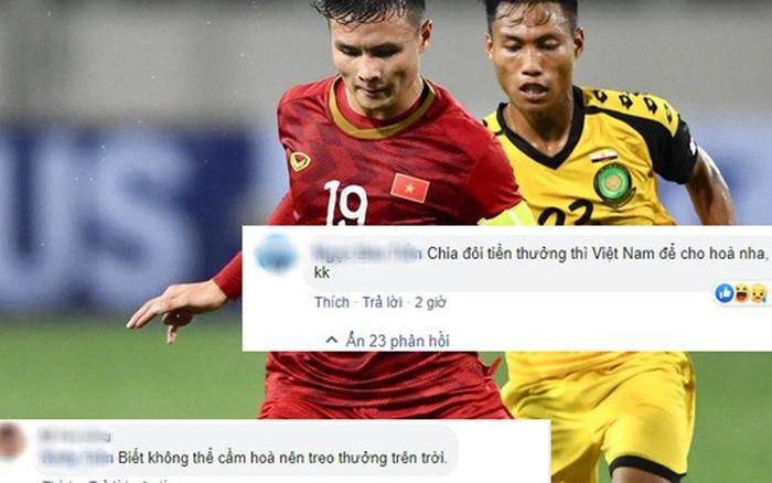 U22 Brunei được thưởng trăm tỷ nếu cầm hòa U22 Việt Nam, fan Việt troll không trượt phát ...