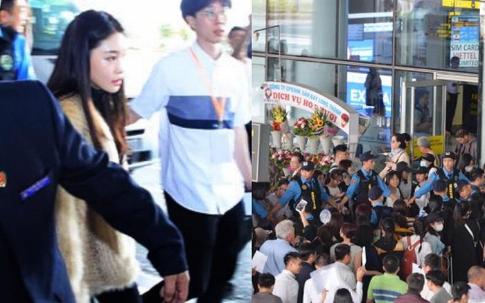 Trực tiếp tại Nội Bài: Chungha là sao Kpop đầu tiên tới Hà Nội, biển fan đông ... - aaa