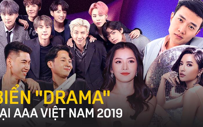 Loạt chiêu trò lố lăng của AAA 2019 tại Việt Nam: BTS gọi hồn câu like, Quốc Trường đang ... - aaa