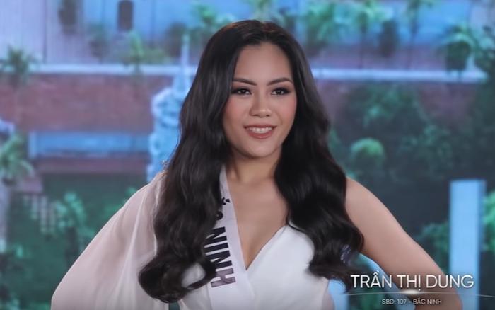 """Choáng với thí sinh """"Hoa hậu Hoàn vũ VN"""" nói tiếng Anh nhưng lại bị nhầm ..."""