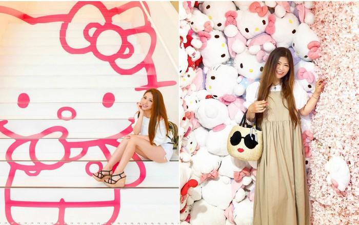 Phát sốt thiên đường Hello Kitty vừa lộ diện ở Nhật Bản, mỗi khi thấy chán đời tìm ...