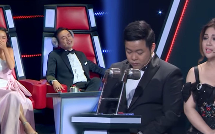 Quang Lê, Dương Khắc Linh từng gây tranh cãi khi làm việc riêng trong lúc ...