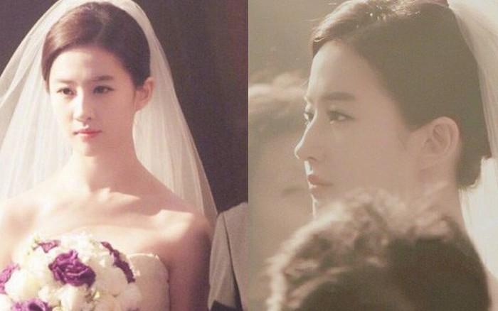 Lưu Diệc Phi mặc váy cưới: Giai nhân tuyệt mỹ đẹp từng góc độ, bảo sao danh xưng ...