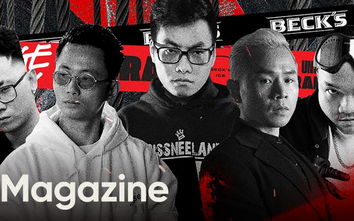 """Beck'Stage Battle Rap: Giải đấu khủng nhất của rap Việt Nam và lời khẳng định """"We'are Striver"""""""