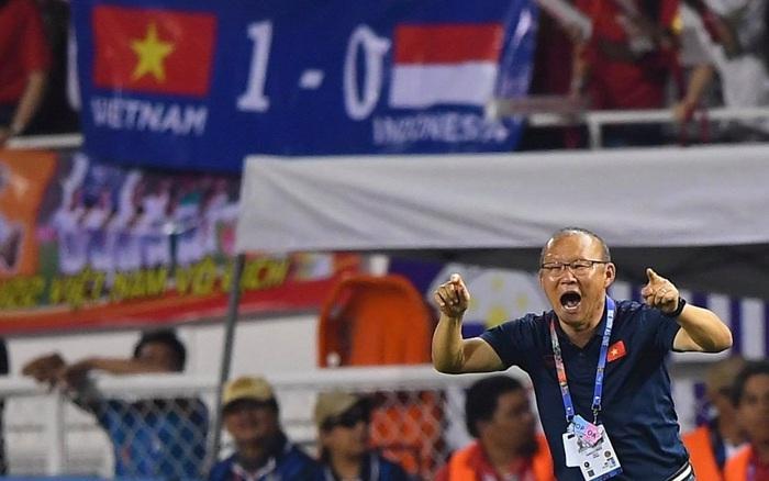 HLV Park Hang-seo cực thần thái khi Văn Hậu ghi bàn mở tỷ số ở trận chung kết SEA Games 30 - kết quả xổ số đồng tháp