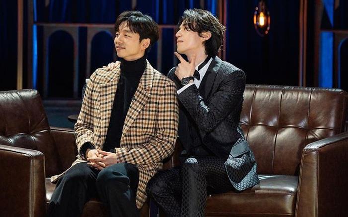 """Cặp """"Yêu tinh – Thần chết"""" tái ngộ trên talkshow của Lee Dong Wook: Visual đẹp ..."""