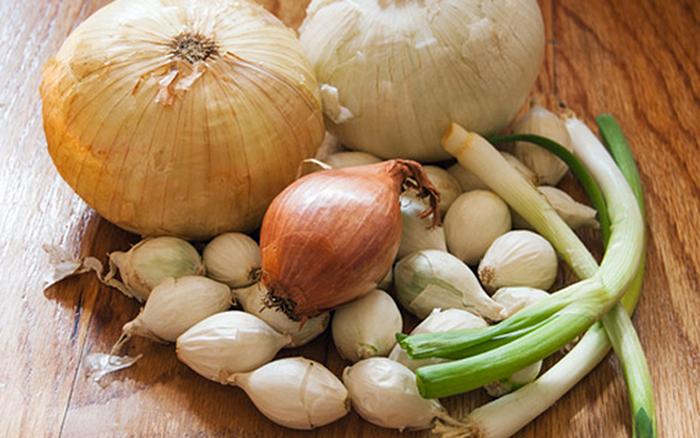 Hành tây, hành lá và tỏi loại nào tốt nhất cho sức khỏe? Câu trả lời ...