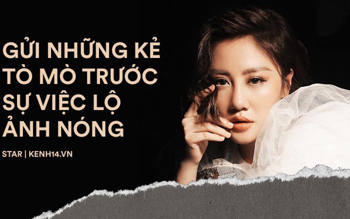 """Gửi những kẻ phát tán và """"xin link"""" clip Văn Mai Hương: Đừng vô lương tâm dồn ..."""