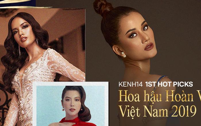 Dự đoán TOP 10 Hoa hậu Hoàn vũ Việt Nam 2019: Hoàng Phương mới mẻ hay Thuý Vân ...