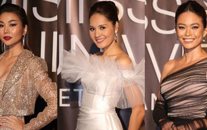 Thảm đỏ bán kết Hoa hậu Hoàn vũ Việt Nam 2019: Thanh Hằng cực thần thái