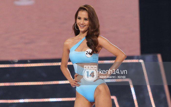 """Diện bikini một mảnh, dàn thí sinh """"Hoa hậu Hoàn vũ VN 2019"""" có kín ..."""