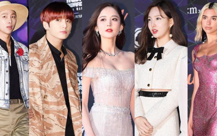 Thảm đỏ MAMA 2019 Nhật Bản: BTS gây náo loạn, Na Trát nhan sắc đỉnh cao