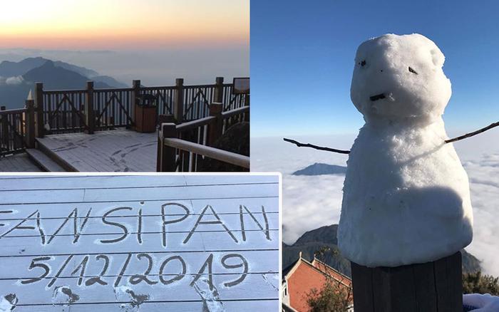 HOT: Xuất hiện băng giá phủ trắng đỉnh Fansipan, dân tình rục rịch rủ nhau cuối năm ...