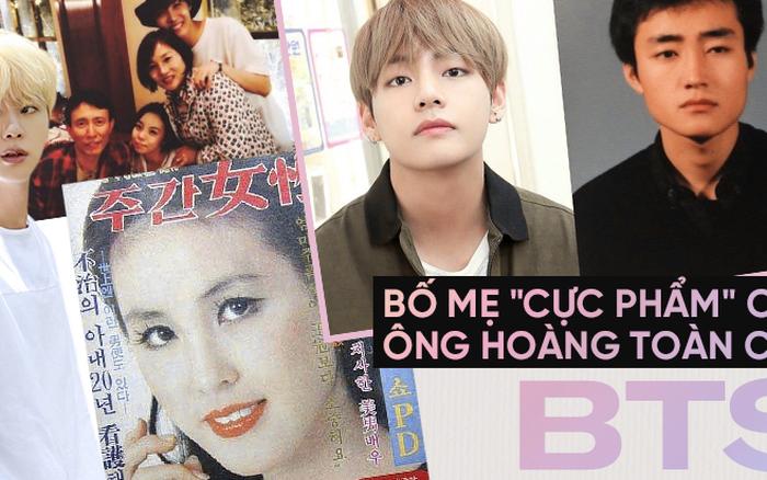 """Choáng với bố mẹ của """"ông hoàng toàn cầu"""" BTS: Ai cũng đẹp xuất sắc, mẹ Jin ..."""