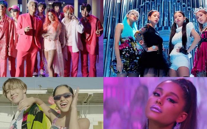 YouTube Rewind công bố 10 MV nhiều lượt like nhất 2019: BTS, BLACKPINK không ai đứng đầu bảng, ...