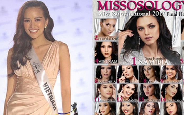 Ngọc Châu đang đứng vị trí nào trong BXH Missosology trước thềm chung kết Miss ...