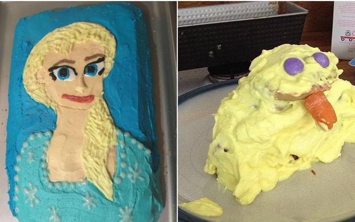 """Được fan hâm mộ gửi tặng bánh kem lấy cảm hứng từ Frozen 2, """"bà hoàng truyền ..."""
