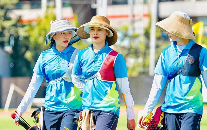 Nhan sắc nữ VĐV bóng rổ Việt Nam chuyển sang bắn cung, giành HCV SEA Games ngay lần đầu tham dự