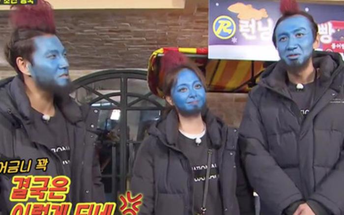 Hình phạt hóa trang hài hước nhất lịch sử Running Man: Cosplay Yondu phát bánh ...