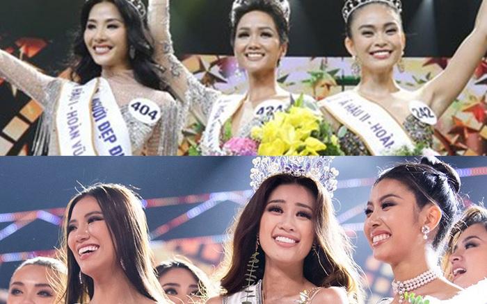 """Top 3 """"Hoa hậu Hoàn vũ VN 2017"""" toàn """"Next Top Model"""" thì 2 năm sau, ..."""
