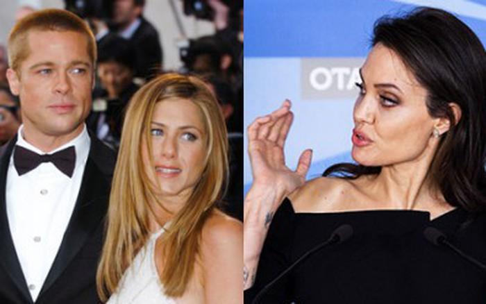 """Tiết lộ về tâm trạng """"sốc toàn tập"""" của Angelina Jolie khi biết Brad Pitt dự sinh ..."""