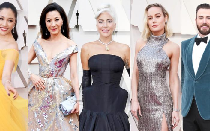 """Thảm đỏ Oscar 2019: Lady Gaga bị tình tin đồn """"bỏ rơi"""", dàn """"Con nhà ..."""