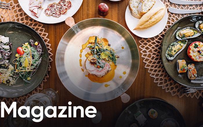 """""""Bữa tiệc trên mây"""" mùa lễ hội: Nâng tầm trải nghiệm ẩm thực với mọi giác quan ..."""