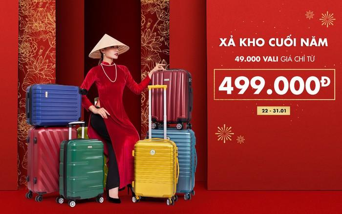 """Cuối năm cận kề, hốt ngay vali """"giá rẻ vô địch"""" – Chỉ từ 499K cho chuyến về quê ăn Tết ..."""