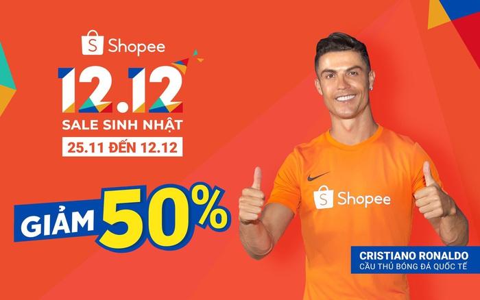 Chào đón siêu ưu đãi trong sự kiện mua sắm lớn nhất cuối năm, Shopee 12.12 Sale Sinh ...