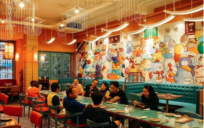 Vừa ra mắt, nhà hàng Hồng Kông khiến thực khách thích thú với món lạ ...
