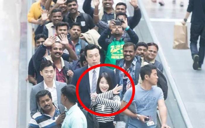 Góc nhận vơ: Fan đón IU nhưng đoàn các anh trai cứ tưởng dân Hàn hiếu ...