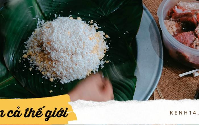 Gạo nếp trong ẩm thực Việt là linh hồn của nhiều món bánh truyền thống