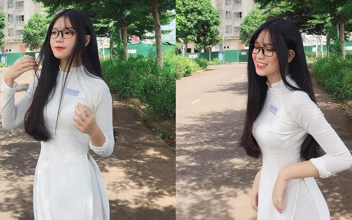 """Girl ĐH Kiến trúc sinh năm 2000 được báo Trung khen nức nở: """"Chân dài, da trắng, ..."""