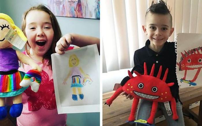 Biến những bức vẽ nguệch ngoạc thành đồ chơi, công ty này đang chiếm trọn cảm tình ...