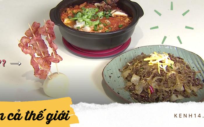 Những món ăn kì lạ của idol Kpop khiến bạn phải dở khóc dở cười