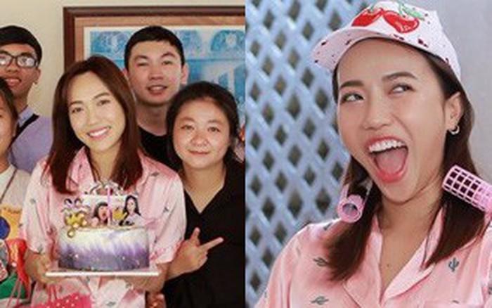 Diệu Nhi bất ngờ được fan tổ chức sinh nhật lúc đang ngủ để lộ mặt mộc và loạt biểu cảm vô ...