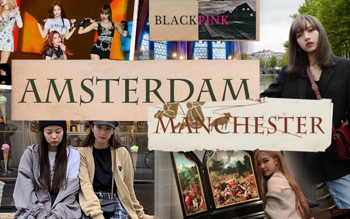 """Ơn giời, BLACKPINK cuối cùng cũng đã """"xả"""" một loạt hình ở châu Âu và ..."""