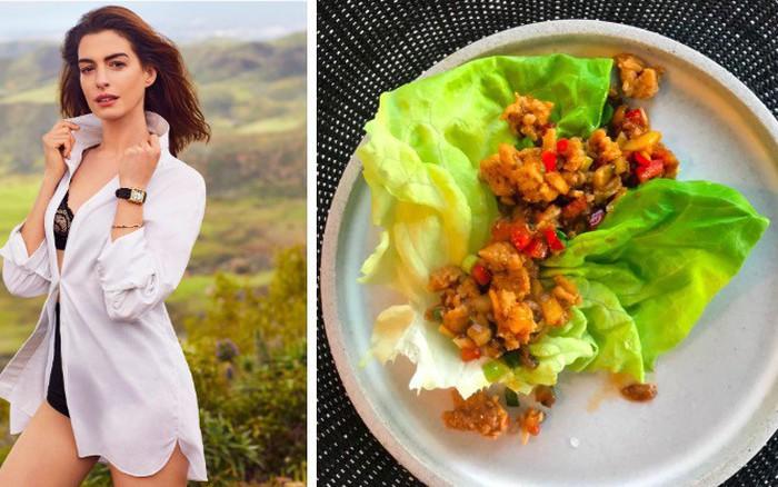 Bỏ ăn chay, Anne Hathaway lựa chọn chế độ ăn nào để duy trì vóc dáng thon gọn ở tuổi ...